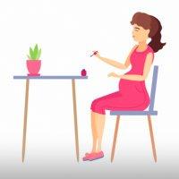 Беременность и процедуры красоты
